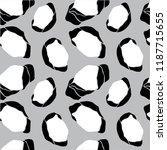 cotton flower patter  abstract... | Shutterstock .eps vector #1187715655