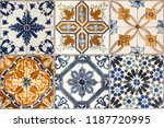 Wall From Colorful Ceramic...