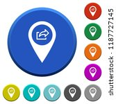 export gps map location round...   Shutterstock .eps vector #1187727145