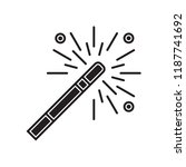 magic wand icon vector isolated ... | Shutterstock .eps vector #1187741692