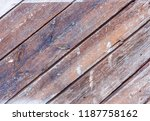 old wood texture for background  | Shutterstock . vector #1187758162