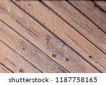 old wood texture for background  | Shutterstock . vector #1187758165