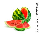 fresh  nutritious and tasty... | Shutterstock .eps vector #1187777602