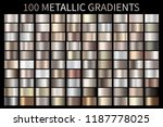 metallic  bronze  silver  gold  ... | Shutterstock .eps vector #1187778025