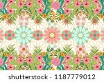 abstract geometric mosaic... | Shutterstock .eps vector #1187779012