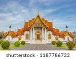 the marble temple  wat... | Shutterstock . vector #1187786722