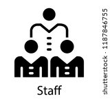 group of people linked... | Shutterstock .eps vector #1187846755