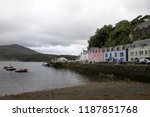 portree   skye island  scotland ... | Shutterstock . vector #1187851768