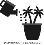 flower vector icon | Shutterstock .eps vector #1187853112