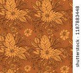 gorgeous vintage seamless... | Shutterstock .eps vector #1187883448