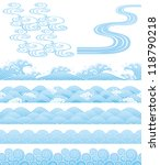 japanese traditional wave | Shutterstock .eps vector #118790218
