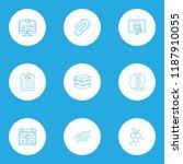 school icons line style set...   Shutterstock .eps vector #1187910055