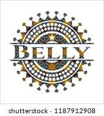 belly arabesque emblem. arabic... | Shutterstock .eps vector #1187912908