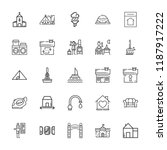 Collection Of 25 House Outline...