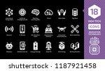 vector innovation technology... | Shutterstock .eps vector #1187921458