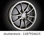 alloy wheel or rim of car   Shutterstock . vector #1187926615
