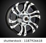 alloy wheel or rim of car   Shutterstock . vector #1187926618