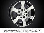alloy wheel or rim of car   Shutterstock . vector #1187926675