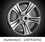 alloy wheel or rim of car   Shutterstock . vector #1187926702