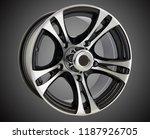 alloy wheel or rim of car   Shutterstock . vector #1187926705