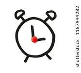 funny hand illustration of an... | Shutterstock .eps vector #1187944282