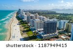 south view of the miami beach... | Shutterstock . vector #1187949415