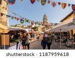 ponferrada  spain. circa... | Shutterstock . vector #1187959618