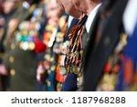 patriotic holiday in honor of... | Shutterstock . vector #1187968288