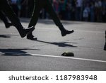 during the military parade on...   Shutterstock . vector #1187983948