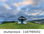 small chapel on top of the cliff | Shutterstock . vector #1187985052