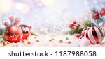 christmas and new year holidays ... | Shutterstock . vector #1187988058