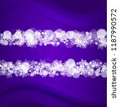 xmas sales with ultraviolet...   Shutterstock .eps vector #1187990572