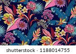 seamless floral pattern in... | Shutterstock .eps vector #1188014755