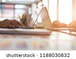 financial adviser working with... | Shutterstock . vector #1188030832