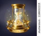 vector realistic hourglass ... | Shutterstock .eps vector #1188032215