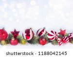 christmas and new year holidays ... | Shutterstock . vector #1188042145