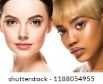 different ethnicity women... | Shutterstock . vector #1188054955