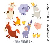 A Large Set Of Animals And...