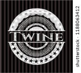 twine silvery emblem or badge   Shutterstock .eps vector #1188063412