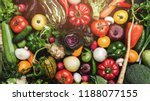 background of vegetables... | Shutterstock . vector #1188077155