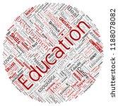 vector conceptual education ... | Shutterstock .eps vector #1188078082