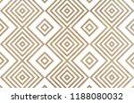 watercolor geometrical pattern... | Shutterstock . vector #1188080032
