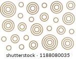 watercolor khaki circles on... | Shutterstock . vector #1188080035