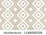 watercolor geometrical pattern... | Shutterstock . vector #1188080038
