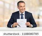 stock photo of creepy business... | Shutterstock . vector #1188080785