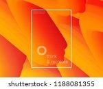 3d paint brush with vibrant... | Shutterstock .eps vector #1188081355