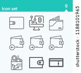 contains such icons as coupon ... | Shutterstock . vector #1188101965