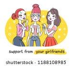 vector bright illustration of... | Shutterstock .eps vector #1188108985