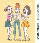vector color illustration of... | Shutterstock .eps vector #1188108988