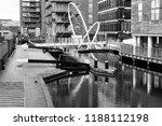 birmingham  england. modern...   Shutterstock . vector #1188112198